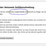 Rügenwalder Webseite down