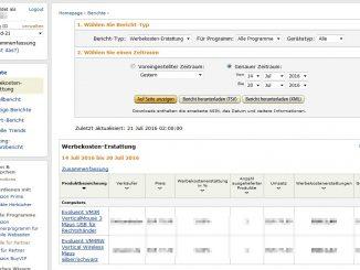 Werbekostenerstattung-Tracking-ID-Ebene