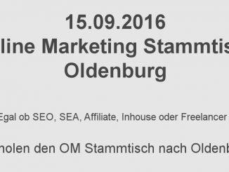 Online Marketing Stammtisch Oldenburg