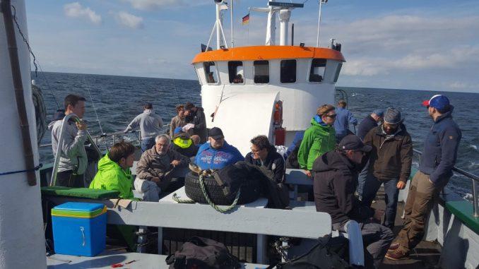 Sumago Hochseeangeln 2016 Kutter auf der Ostsee