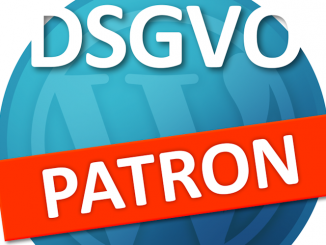 WordPress DSGVO Plugin